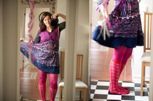 Sidesaddle dress och ninjabud